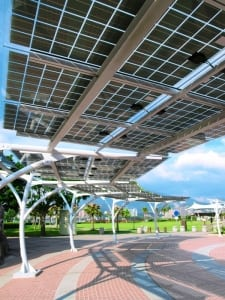 Solar Power Racks