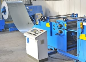 hot rolled steel forming machine