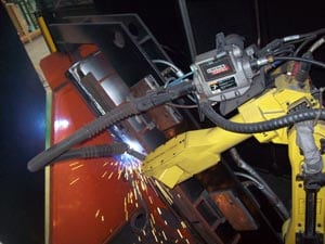 Welding & Bending Machine